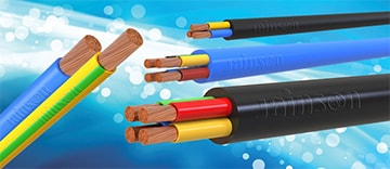 PVC Industrial Cables up to 1100V(Single & Multi-Core)